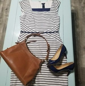 Nautical Ann Taylor Dress